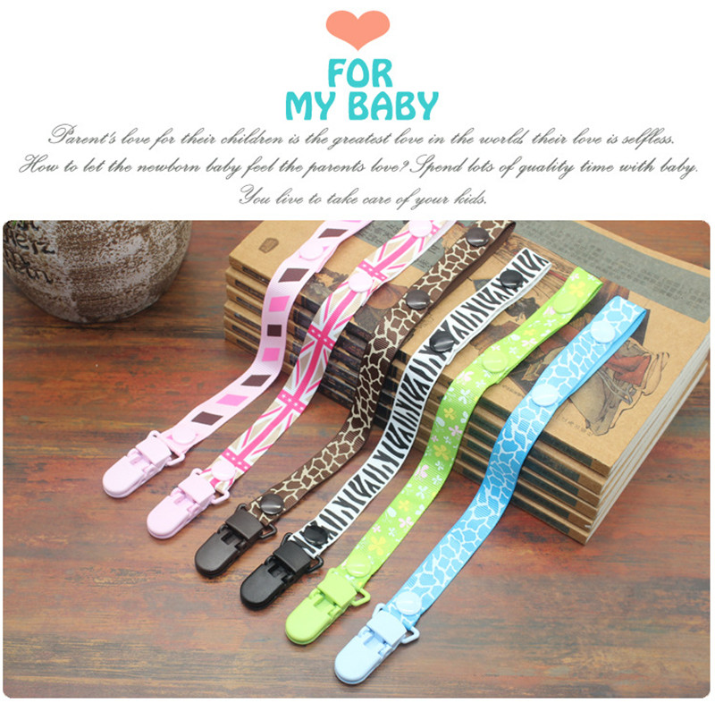 PUDCOCO Newest Infant Baby Pacifier Holder Newborn Boys Girls Pacifier Chain Soother Strap Clip Chain Pacifiers Leash