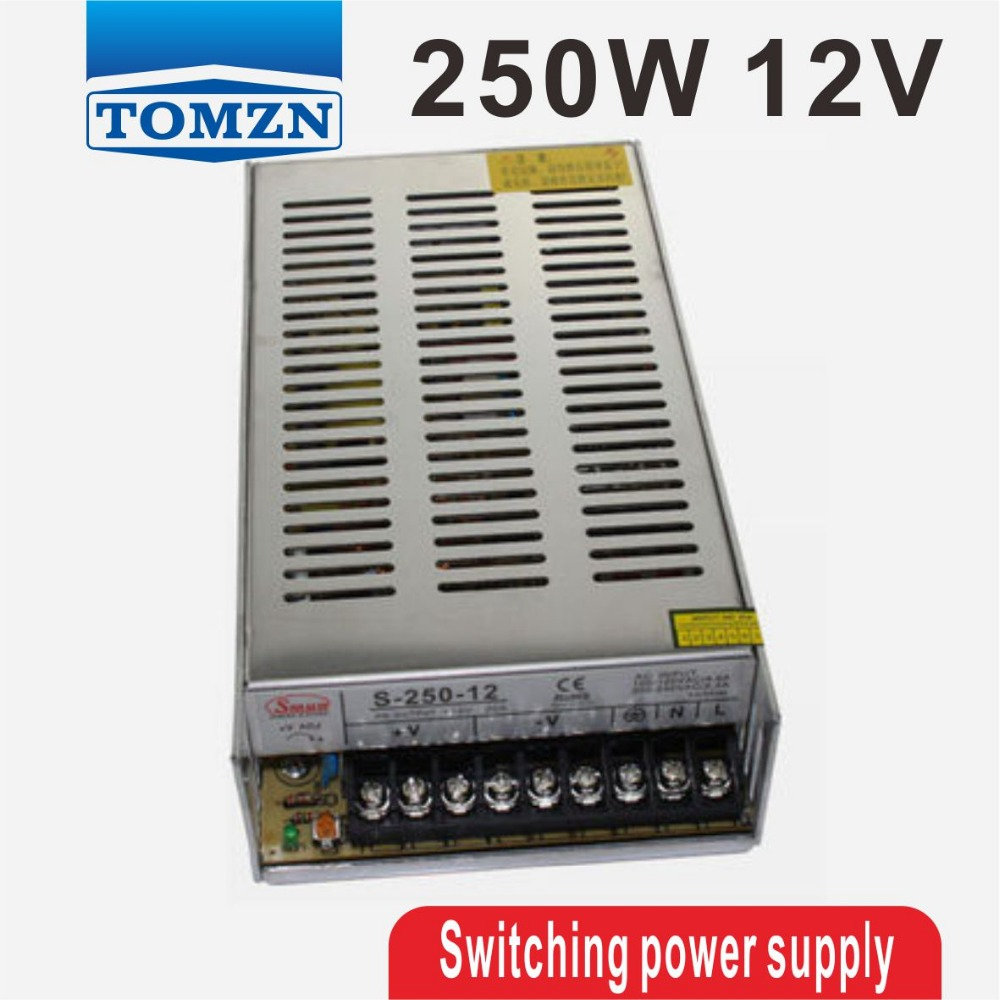 250W 12V 20A Single Output Switching power supply AC to DC s 250 12 12v 20a 250w switching power supply silver