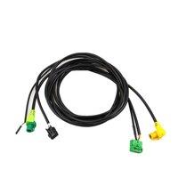 READXT For VW Golf 7 MK7 CarPlay USB AUX Switch MDI USB AMI Adapter Plug Socket Connector Harness Cable CarPlay Auto Accessories