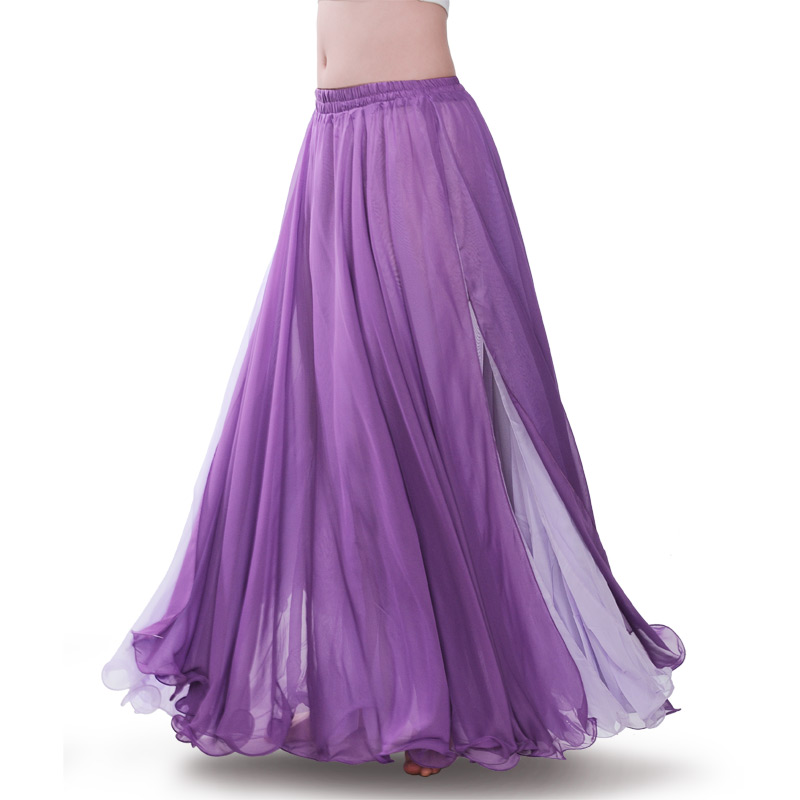Belly Dance Skirt Professional Full Bellydance Costumes Girls Performance Costume Skirts Lower Skirts Dancing Wear D-0703