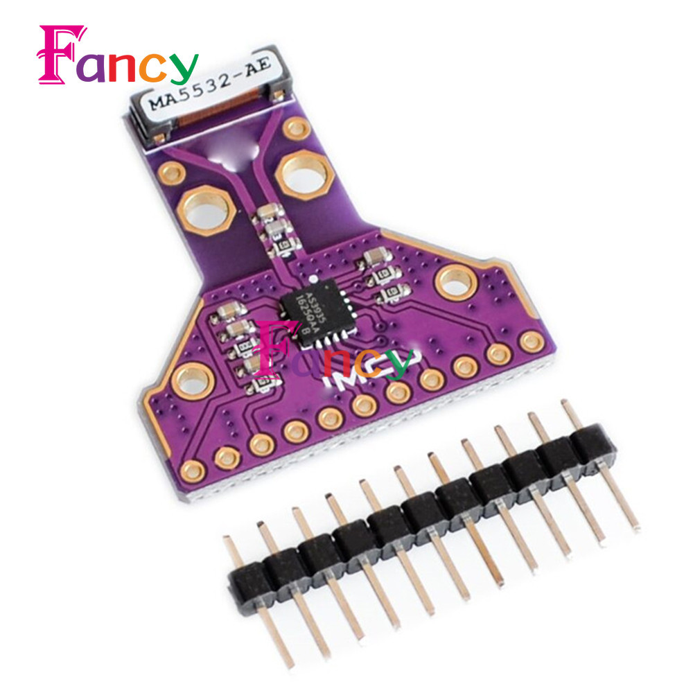 AS3935 Sensor Breakout Board SPI I2C Interface Strikes Thunder Rainstorm Storm Distance Detection 2.4V-5.5V Antenna цена