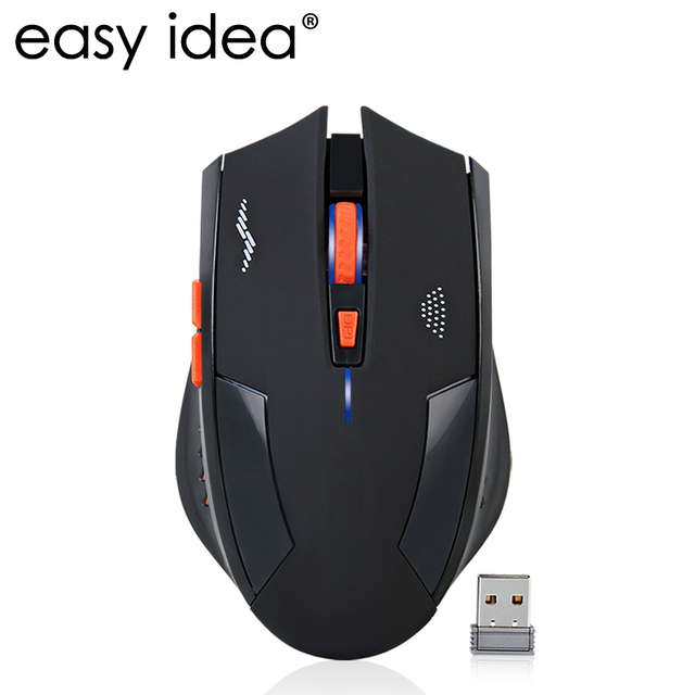 Перезаряжаемая беспроводная мышь 2400 dpi игровая мышь 2,4 г Silence Встроенная литиевая батарея мышь геймер 6 кнопок оптическая игровая мышь