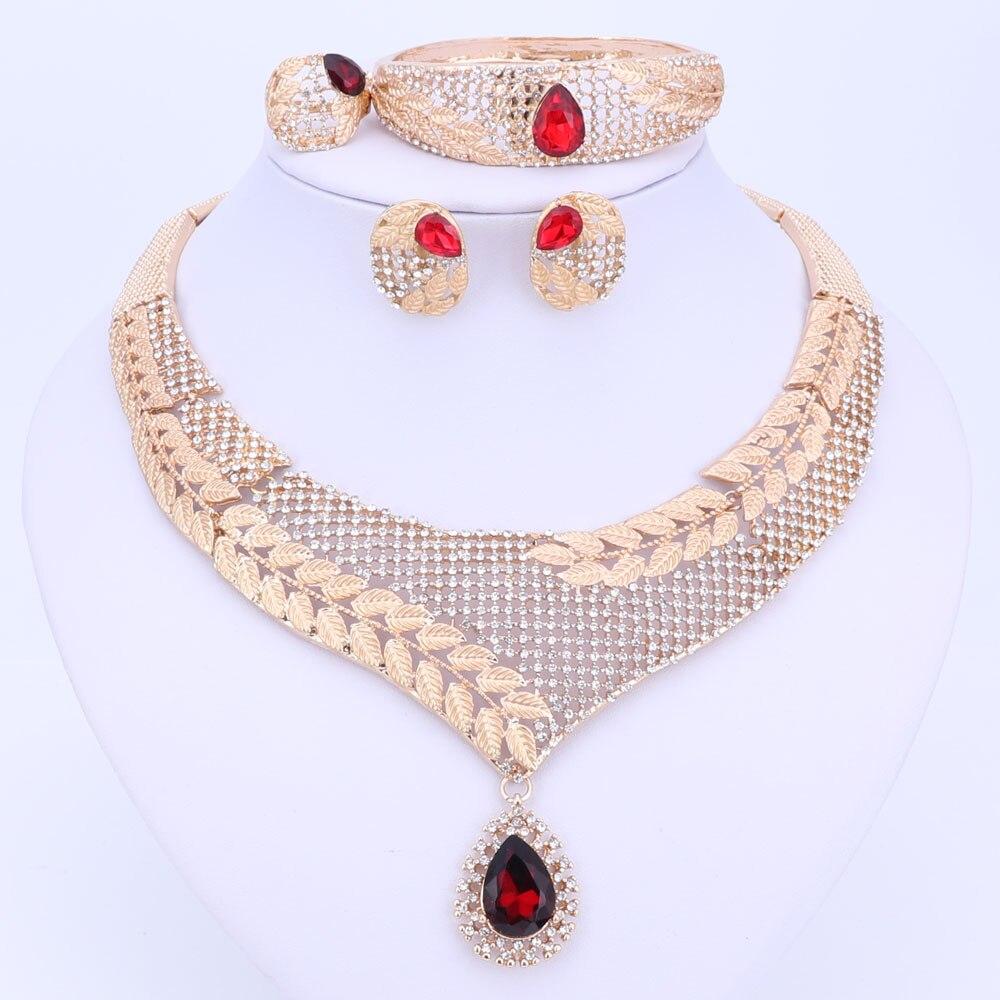 Դուբայի բյուրեղյա զարդերի հավաքածու - Նորաձև զարդեր - Լուսանկար 5