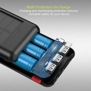 Image 2 - Allpowers 新加入 24000 mah 太陽光発電銀行ポータブル外部バッテリーソーラー powerbank の充電器電話