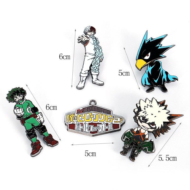 My Hero Academia Cosplay Props Badge Brooch Izuku Midoriya Bakugo Tokoyami Fumikage Chestpin Gifts Boku No Hero Academia Pin