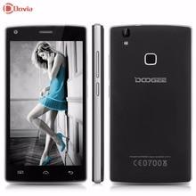 Doogee x5 max pro 5.0 pouce 4g smartphone android 6.0 mtk6737 Quad Core 1.3 GHz 2 GB RAM 16 GB ROM Capteur D'empreintes Digitales Mobile Téléphone