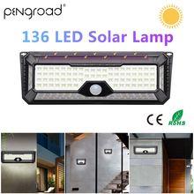 136LED Garden Solar Light…