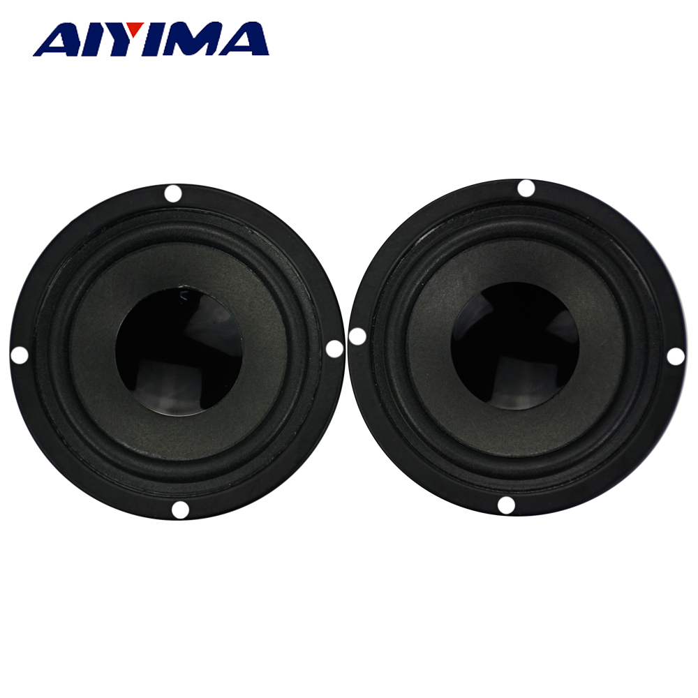 3Inch Audio Portable Speakers 4Ohm 10W Baked Black Bubble Edge Dual Magnetic 45 Core Speaker