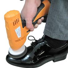 Przenośna polerka do butów elektryczna szczotka do butów ręczna polerka do butów automatyczna maszyna do butów tanie tanio Sprzęt do polerowania obuwia Gąbka Esyhey ht-2001 220 v 280W 12 months Red blue