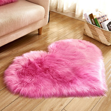 Sweet Love Heart Shape Carpet Antiskid Doormats Floor Rugs Decor for Bathroom Bedroom Kitchen Living Room Different Colours