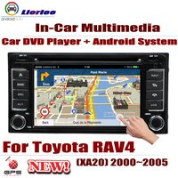 Car DVD Player For Toyota RAV4 (XA20) 2000~2005 GPS Navigation Android 8 Core A53 Processor Radio BT SD USB AUX WIFI