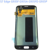 New Super AMOLED LCD S7 Edge G935F G935A G935FD G935P Display 100 Tested Working Touch Screen