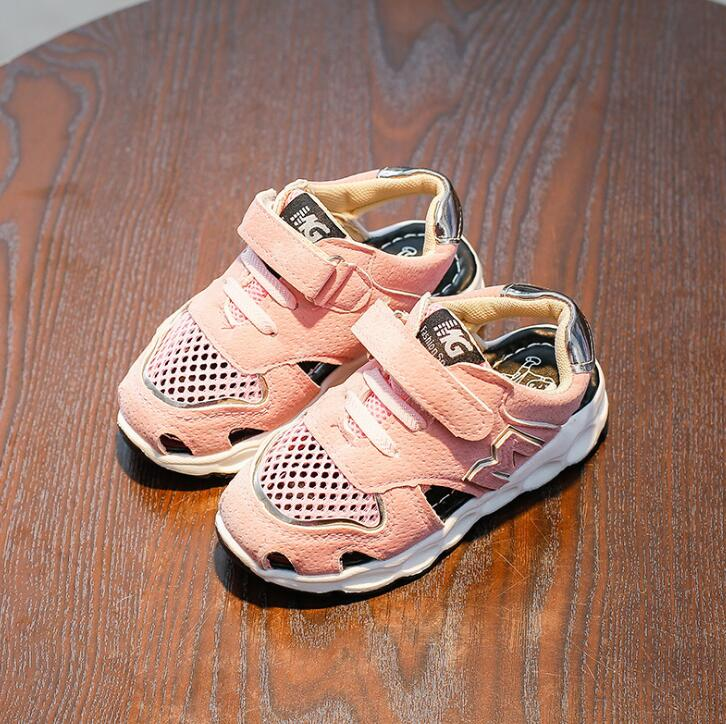 Children Casual Shoes Baby Sandals Male Child Sandals Children Baby Boy Summer Beach Sandals Kids Mesh Shoes Sneakers