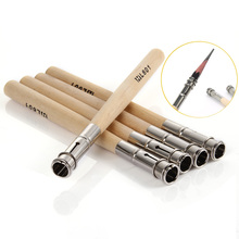 Heißer 5 stücke Zeichnung Bleistift Extender Gerät Verlängert Carbon Stangen Clip Verlängerung Bar Bleistift Skizze Kunst LSK99