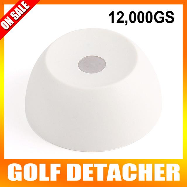 12, GS Golf Detacheur Segurança Tag Remover EAS Desacoplador Magnética Intensidade Anti-roubo de Material Plástico de Cor Branca Leitosa
