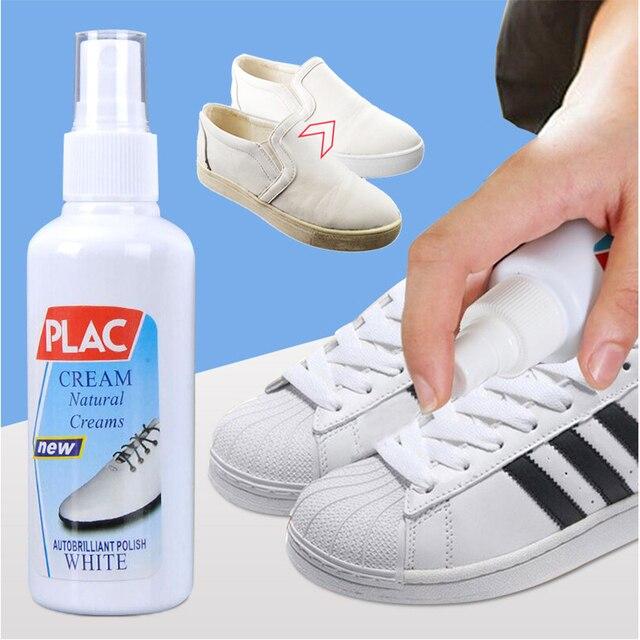 Kit de descontaminación profesional de los zapatos blancos de la limpieza de los zapatos blancos de la magia de 100 ml