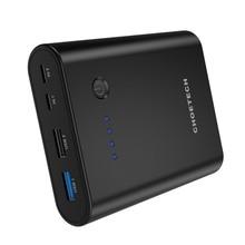 Choetech Мощность банк 10400mA быстро Зарядное устройство мобильный Мощность универсальный для USB Type-C мобильного телефона QC 3.0 Quick Charge Мощность банк