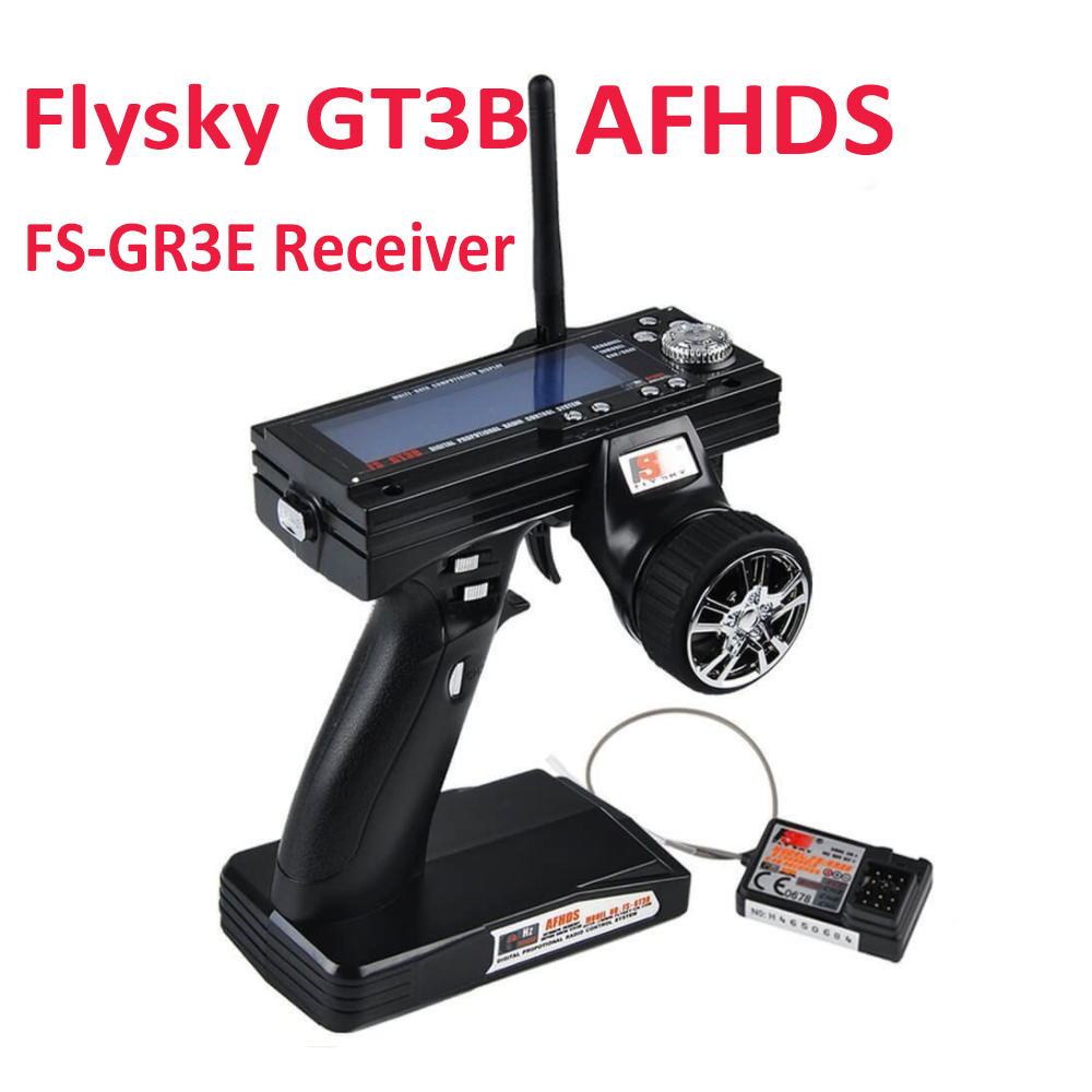 Flysky FS GT3B FS GT3B 2 4G 3ch RC System Gun remote control transmitter FS GR3E