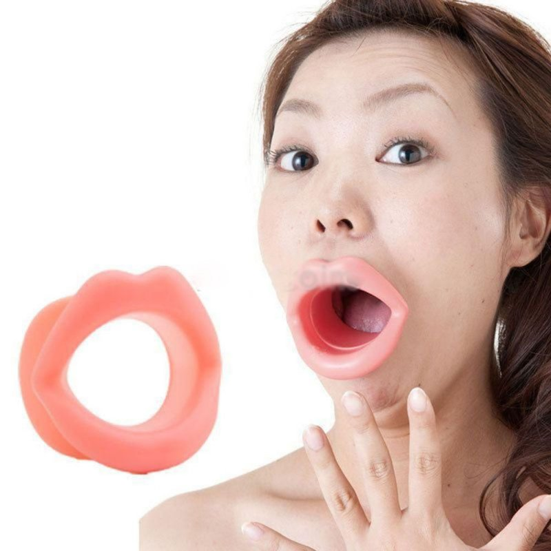 Massage Face-lift Tool Make Up Silicone Rubber Maquiagem Face Care Slimmer Mouth Muscle Tightener Anti-aging Anti-wrinkle Beauty