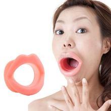 Massage Gesicht-lift Werkzeug Machen Up Silikon Gummi Maquiagem Gesicht Pflege Schlanker Mund Muscle Spanner Anti-aging Anti-falten