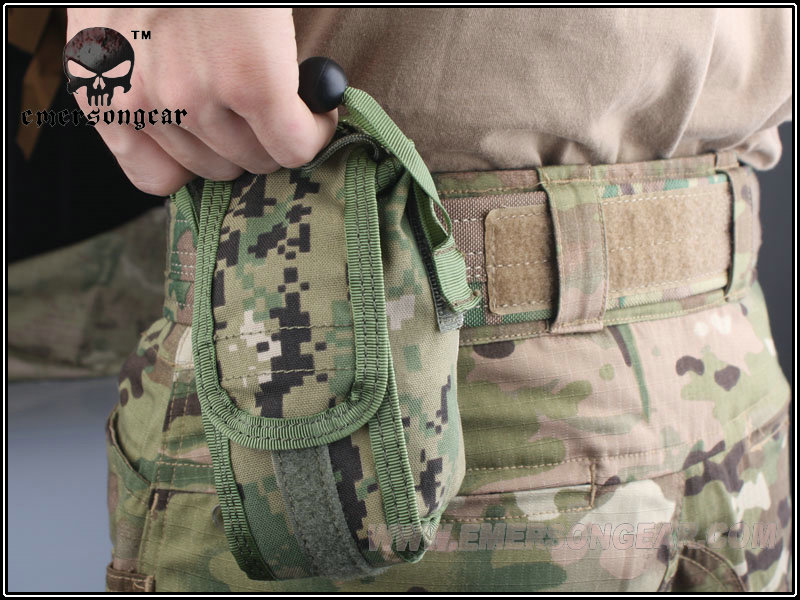 Emerson Tactical Flotation Style MAG Drop Pouch Hunting Gear 1000D Multicam
