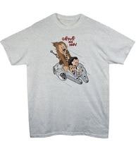Chewie & Han Calvin & Hobbes Falcon Star Wars T Shirt Grappig Ontwerp Gedrukt Zomer Katoen O-hals Top Tee Hot Koop Size S-3XL