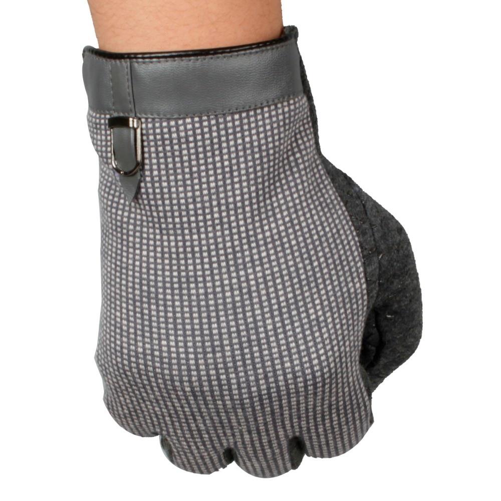 Driving gloves carpal tunnel - Men S Drive Gloves Fashion British Lunga Warm Cashmere Car Slip Cotton Mittens China Mainland