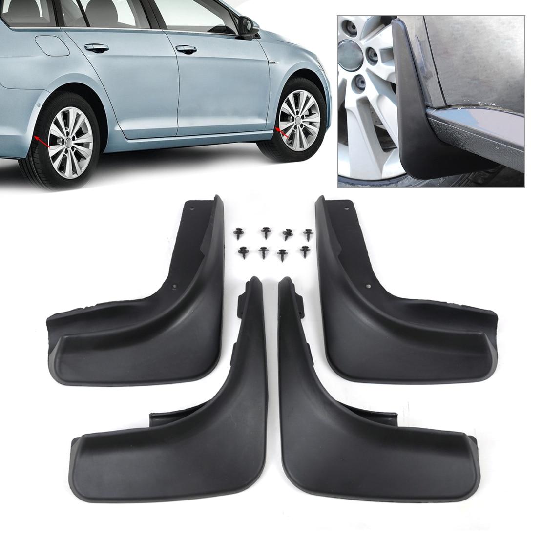 Volkswagen Golf Hatchback Review 2009 2012: CITALL 4Pcs Cool Mud Flap Flaps Splash Guards Mudguard
