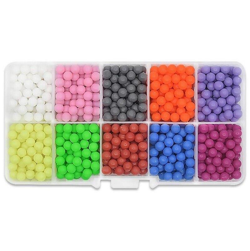 1000db / zsák Víz Hama gyöngyök játékok ragacsos Perler - Puzzle játékszerek