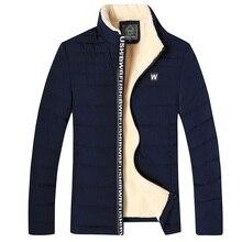 Брендовая новая осенне-зимняя мужская повседневная куртка, пальто, Мужская модная хлопковая брендовая одежда, куртки, мужские парки
