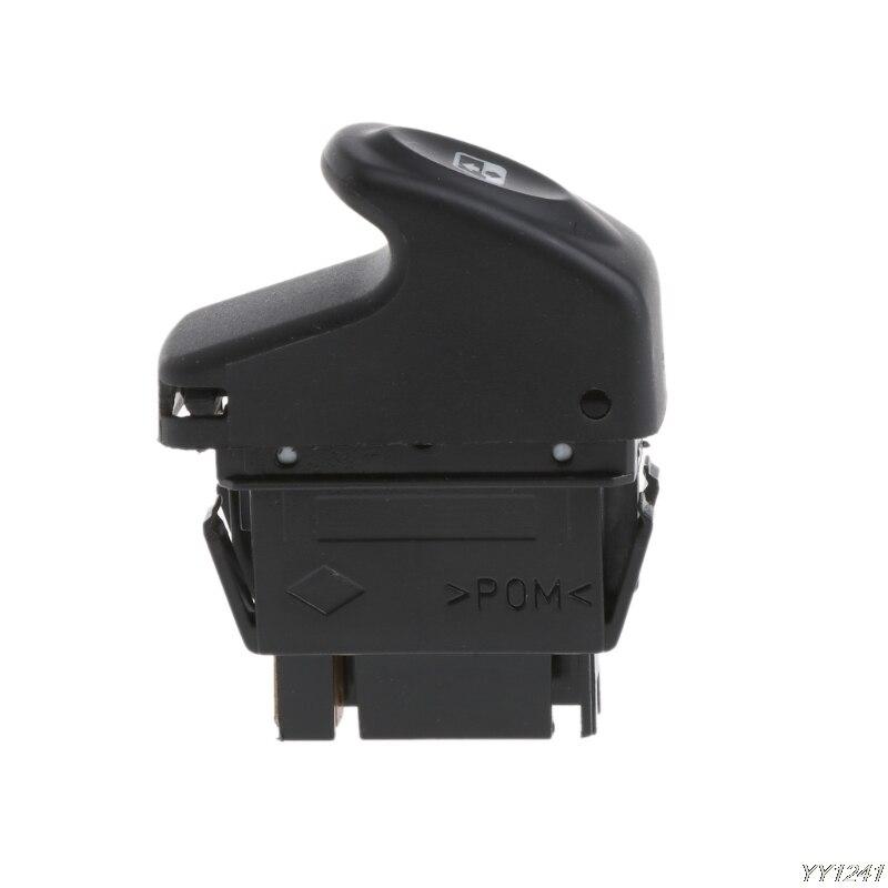 Renault Kangoo 1998-2008 Single Electric Window Control Switch 6 Pin Black