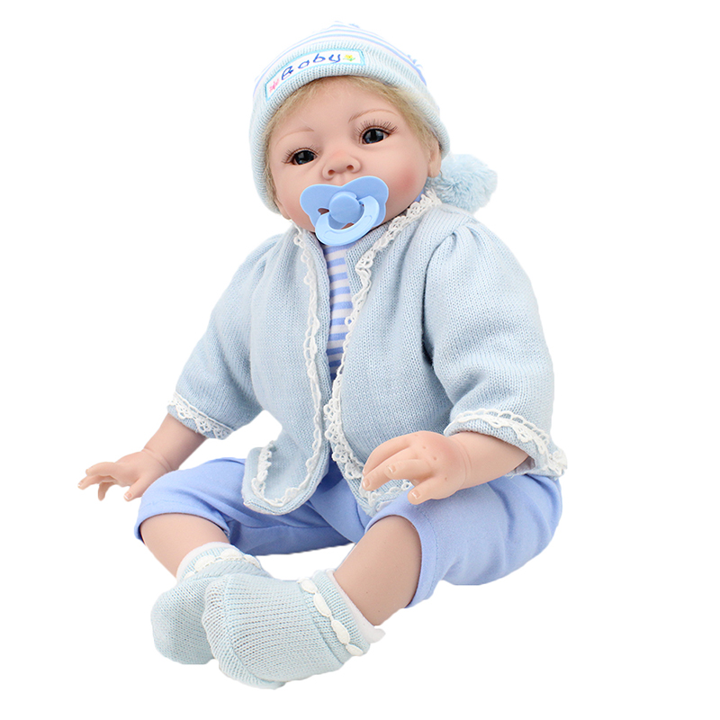 22 Doll Reborn Baby Dolls Handmade Realistic Soft Silicone 100-reborn-babies  Doll Toy  Gift For Children22 Doll Reborn Baby Dolls Handmade Realistic Soft Silicone 100-reborn-babies  Doll Toy  Gift For Children