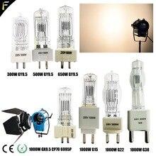 Студийная лампа M40 Лампа 500 Вт/230 В GY9.5 T19 1000 Вт 230 В CP/73 FKK 2000 Вт 240 В G38 T26 650 Вт GY9.5 галогенный вольфрамовый светильник студийная лампа