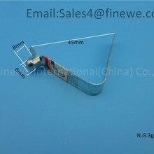 Производитель индивидуальный цинковый v образный трубки пружинные зажимы для 25 мм трубки#8