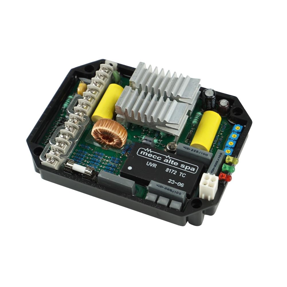 1Pc Automatic Generator Voltage Component AVR UVR6 Dynamo Regulator CLH@81Pc Automatic Generator Voltage Component AVR UVR6 Dynamo Regulator CLH@8