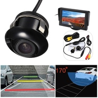 Mini CCD 170 Degree Car Rear Front Side View Camera View Backup Night Vision Parking Camera