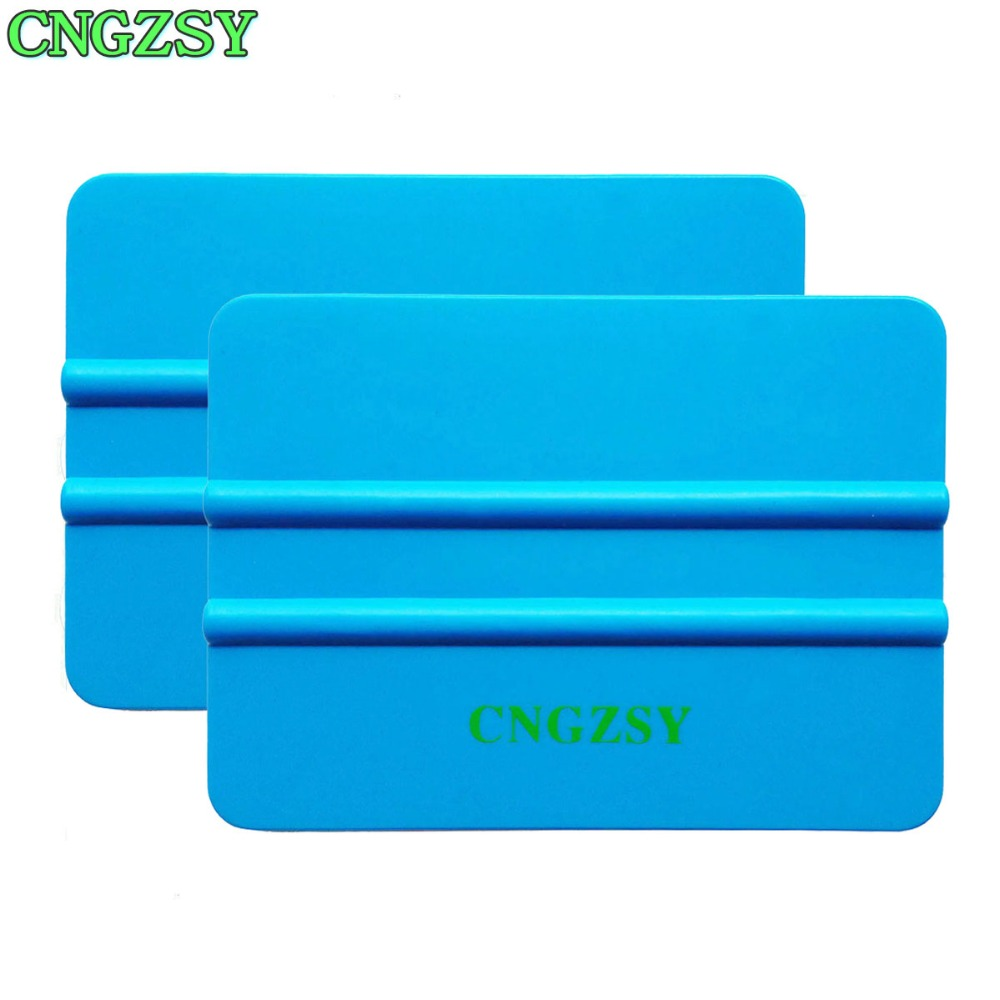 Cngzsy 2pcs Car Vinyl Film Squeegee Glass Wall Paper Scraper Sticker Wrapping Applicator Car Styling Accessories Hand Tools 2a16 To Be Highly Praised And Appreciated By The Consuming Public Car Wash & Maintenance Automobiles & Motorcycles