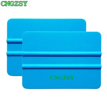 CNGZSY 2pcs Car Vinyl Film Squeegee Glass Wall Paper Scraper Sticker Wrapping Applicator Car Styling Accessories Hand Tools 2A16 image