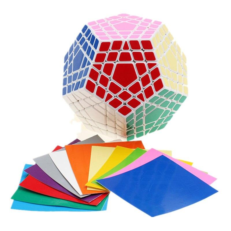 Shengshou Wumofang 5x5x5 Cube magique Megaminx Gigaminx 5x5 professionnel Dodecahedron Cube Twist Puzzle apprentissage jouets éducatifs - 4