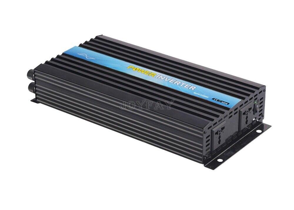 2500W Pure Sine Wave DC 24V to AC 110V Power Inverter