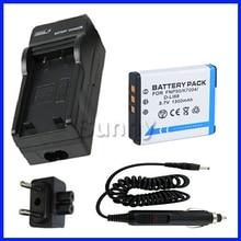 Battery + Charger For Fujifilm FinePix F200EXR, F300EXR, REAL 3D W3, X10, XF1, XP100, XP110, XP150, XP160, XP170 Digital Camera