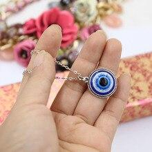 Turkse Symbool Kwaad Blauwe Ogen Ketting Hanger Crystal Bead Hanger Vrouwen Mannen Nazar Kalkoen Sieraden Arabische Islamitische Lucky Charm