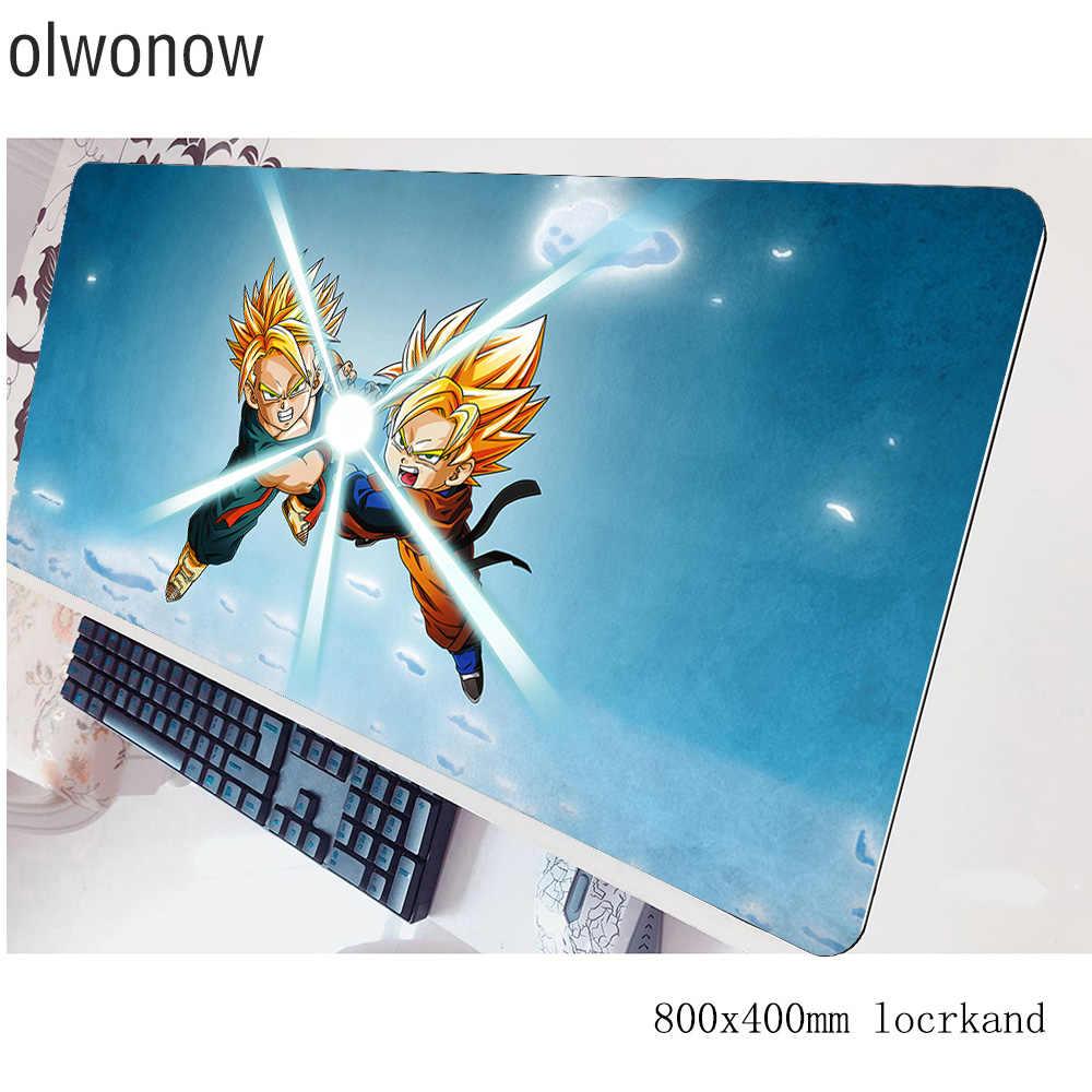 드래곤 볼 Z 마우스 패드 HD 인쇄 패드 마우스 notbook 컴퓨터 mousepad 80x40 게임 padmouse 게이머 노트북 80x40cm 마우스 매트