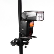 photography U Clamp clip with Ballhead Holder stand for Camera Speedlite flash on Table Pole for photographic