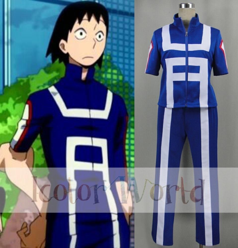 Us 89 95 My Hero Academia Katsuki Bakugo Tenya Iida Sports Uniform Cosplay Costume In Anime Costumes From Novelty Special Use On Aliexpress
