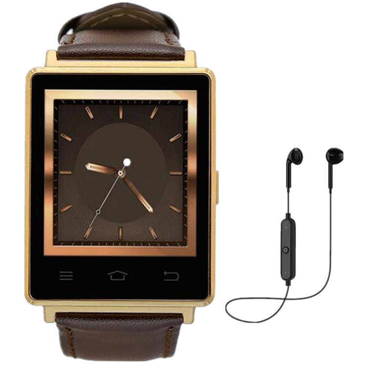 Newest D6 3G Smartwatch Phone Android 5.1 MTK6580 Quad Core 1.3GHz 1GB RAM 8GB ROM 1.63 Inch WiFi Bluetooth4.0 HeartRate Monitor no 1 d6 1 63 inch 3g smartwatch phone android 5 1 mtk6580 quad core 1 3ghz 1gb ram gps wifi bluetooth 4 0 heart rate monitoring