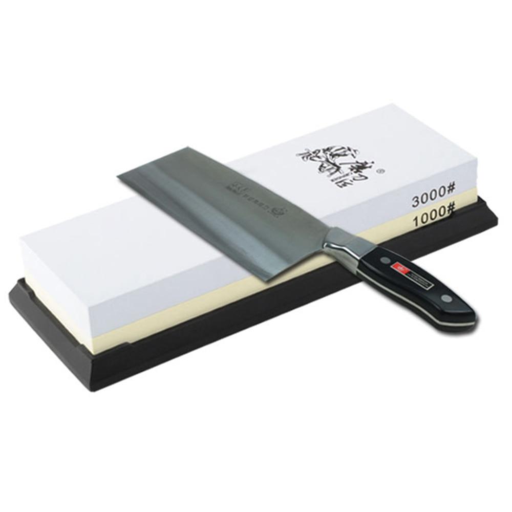TAIDEA 1000/3000 Grit Combination Corundum Whetstone Dual-sided Knife Sharpening Stone For Kitchen Diamond Grindstone