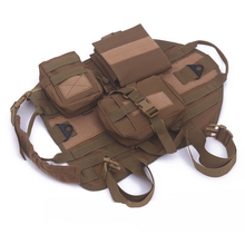 Tactical Outdoorr Military Hunting Dog Clothes Load Bearing Training Vest Harness for Small Dogs Big Dogs Pet Jacket Dog Clothes