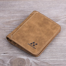 Vintage Men Wallets PU Leather Cards Holder Purse For Male S