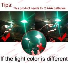 Oświetlenie Wnętrza Auta T10 W5w Dwie Sztuk Z Pilotem